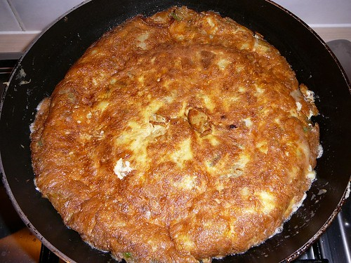 Duck Egg Spanish Omelette 005