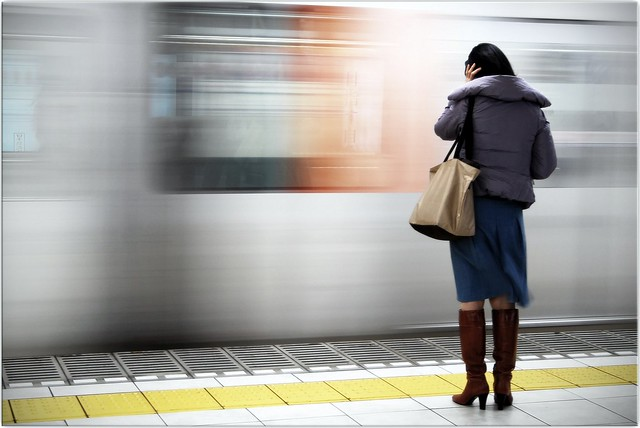 Metro Woman by Extra Medium, on Flickr