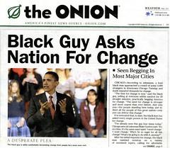 Barack Obama calls for change