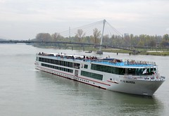 Viking Helvetia River cruise ship on Rhine Riv...