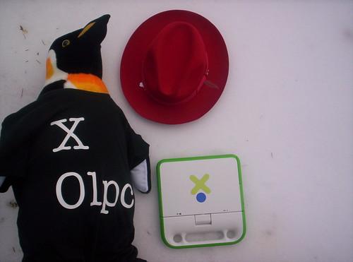 XO-Tux, Fedora, and XO-1