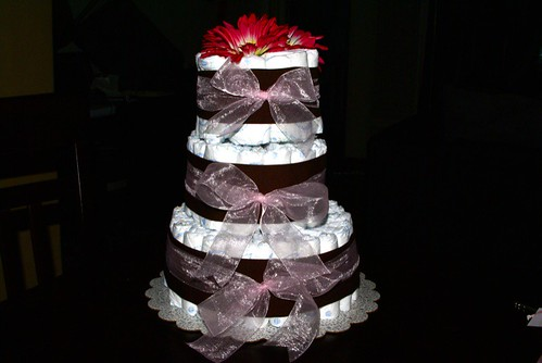 Reyna Diaper Cake