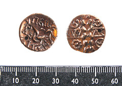 Iron age silver coins