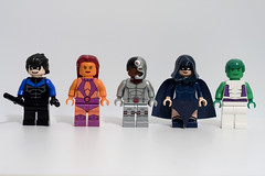 DC Hero Minifigs - Wave 10: Teen Titans