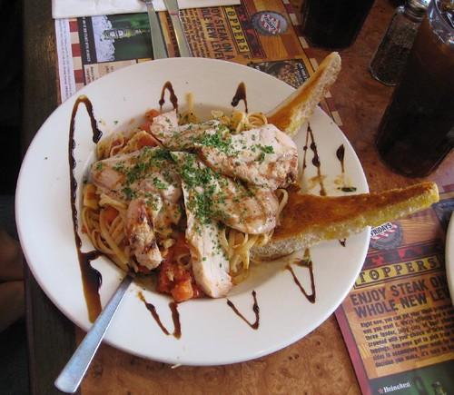 Tossed Tomato Basil Chicken