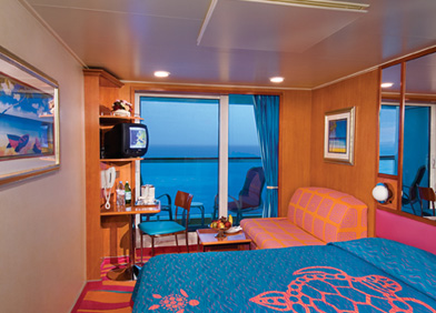 cruise ship - balcony room