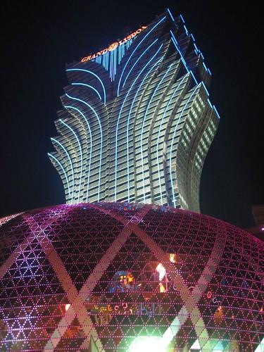 Grand Lisboa casino and hotel