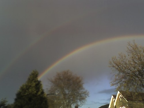 Rainbow over Walthamstow