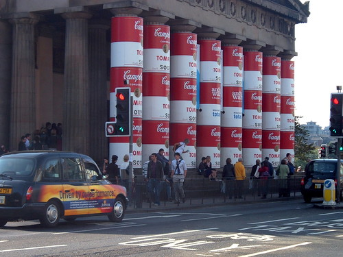Warhol Exhibit in Edinburgh