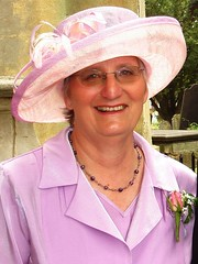 Ruth at September wedding