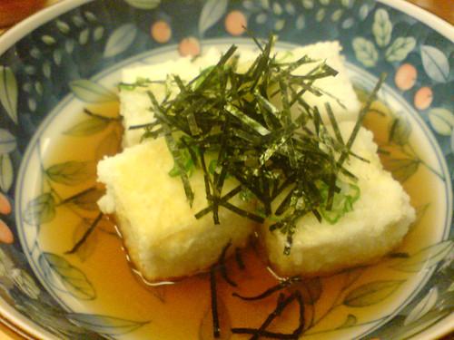 Sushi Say agedashi tofu