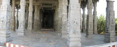 Maha Mandapam at the Inner Entrance