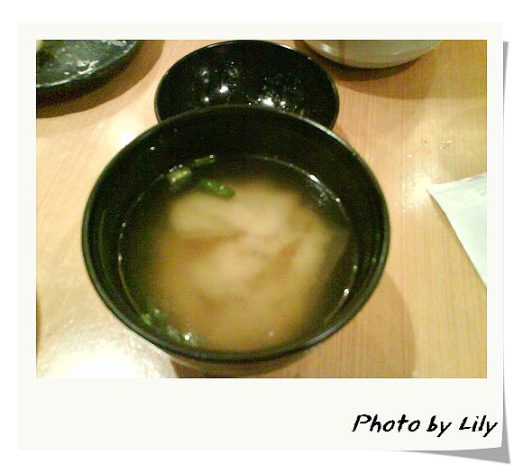 美味可口的味噌湯。