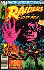 Raiders of the Lost Ark Marvel Adaptation