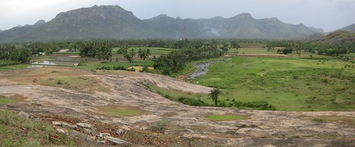 Padavdu aerial view from Kailasa Parai 2