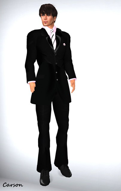 G&T Creations - Tuxedo with Pink Shirt