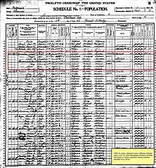 1900 census - John Lindstrom (small)
