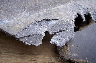 Chrysotile in Slate Roof Tile