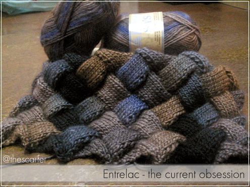 Entrelac - the current obsession