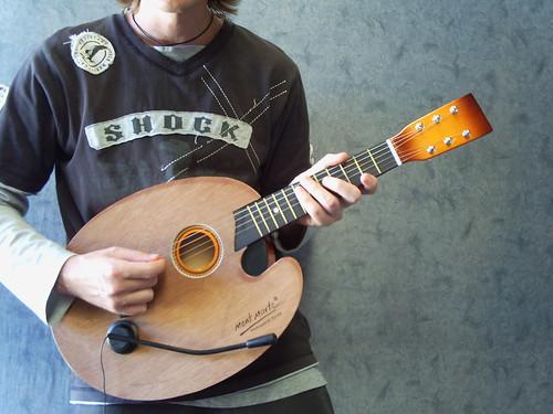 Artist Palette Acoustic Rock Guitar