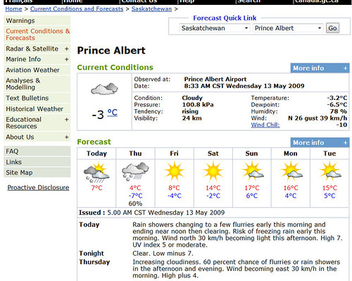 -10°C wind chill ... in the middle of May?!