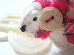 a polar bear snuck in...