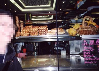 Belgium waffle cart