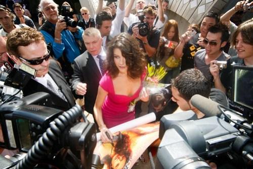 Catherine Zeta-Jones in the fray