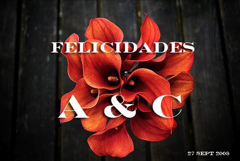 Felicidades A&C