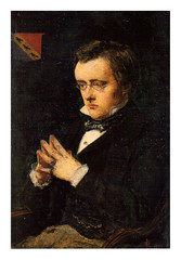 Wilkie Collins by Millais 1851
