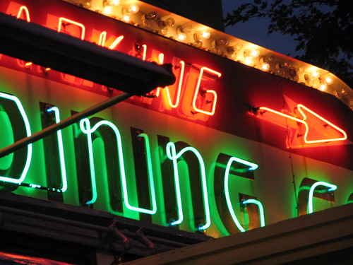 Dining Out, Mickey's Diner, downtown St. Paul, Minnesota, October 2007, photo © 2007 by QuoinMonkey. All rights reserved.