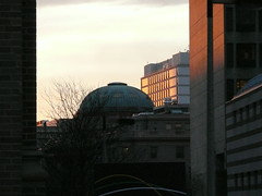 Sunrise over Childrens Hospital