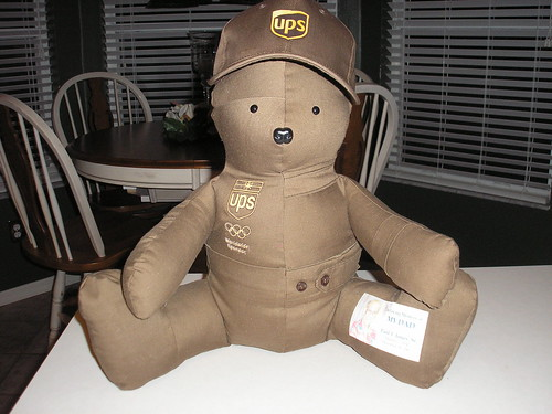 UPS Bear #5 by you.