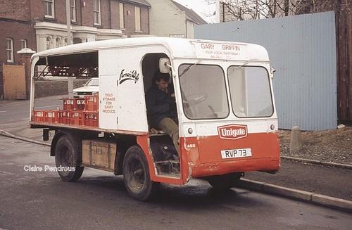 Unigate door-to-door milk deliveries in Willenhall.