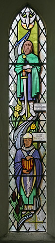 Millennium window, Thriplow by TheRevSteve