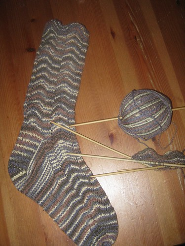 Broadripple sock for me and second one just started!
