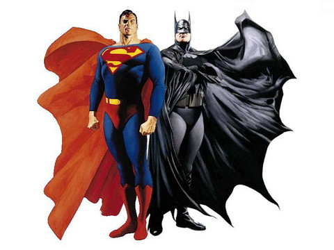 Superman y Batman por Alex Ross