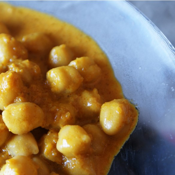 #328 - Curried Chickpeas