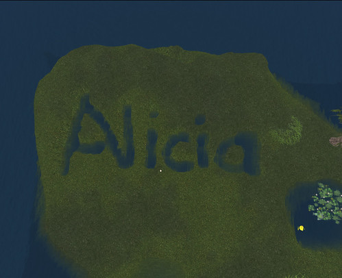Terraformed my name!