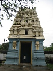 Rajgopuam from inside the temple