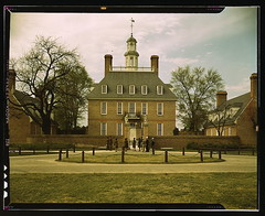The Governor's Palace, Williamsburg, Va. The c...