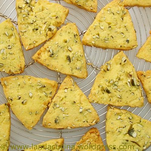 Kürbiskerncookies