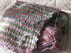 noro striped scarf knock off