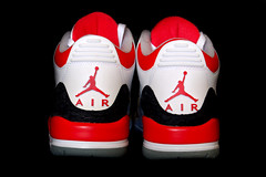 Air Jordan Retro 3 Back
