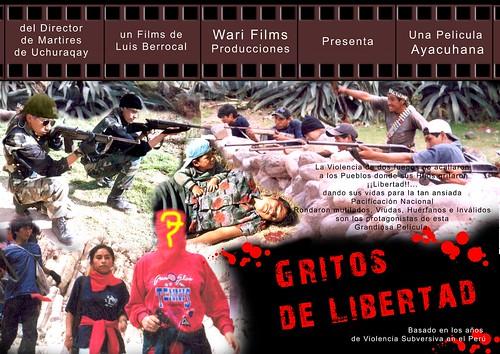Gritos de Libertad de Luis Berrocal