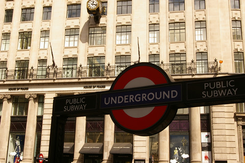 London Undergound - Monument