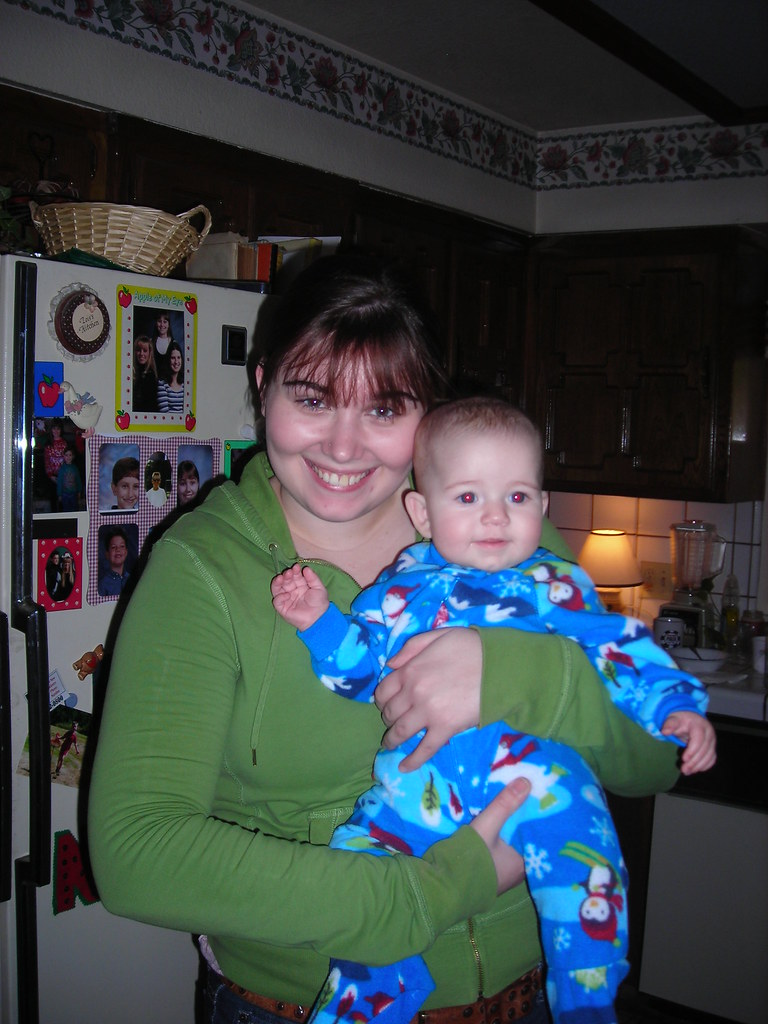 Allison and baby Laura