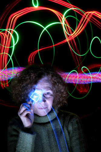 Light painting - Sharen Burns