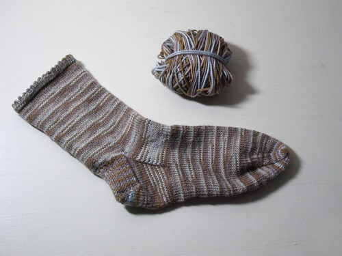 First Single Sock of 2008