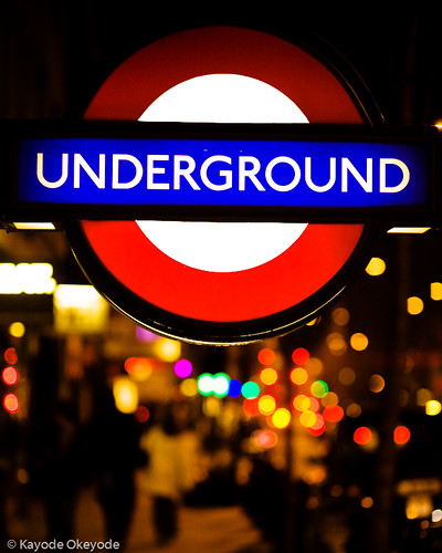 London Underground Tube Sign